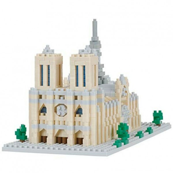 Notre Dame Cathedral (Nanoblock NBH-205)