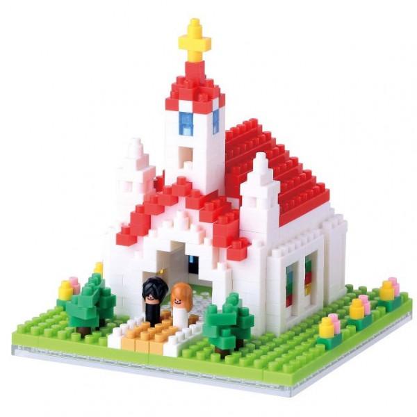 Church (Kirche) (Nanoblock NBH-087)