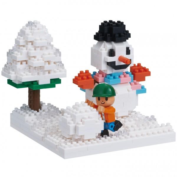 Spielen im Schnee (Nanoblock NBH-165)