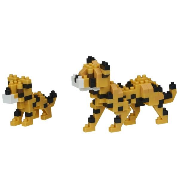 Cheetahs (Geparden) (Nanoblock NBC-307)