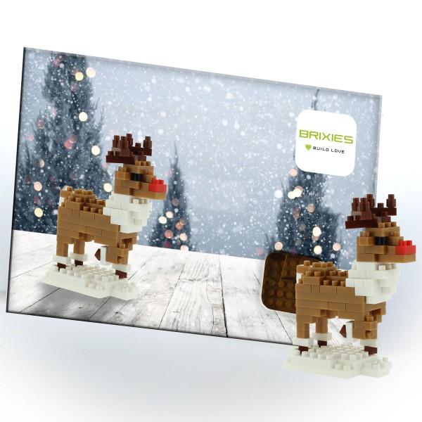 Postkarte Rentier (220.053)