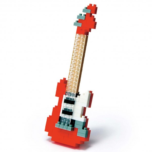 Electric Guitar Red (Nanoblock NBC-037)