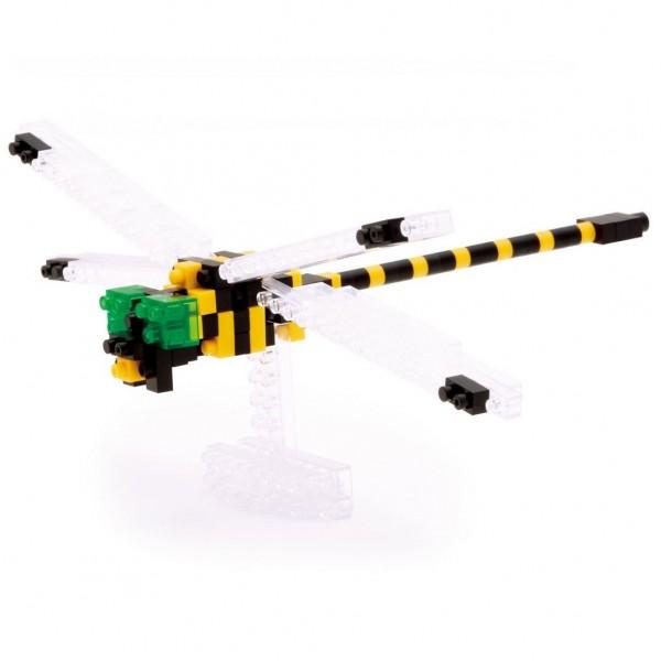 Golden-ringed Dragonfly (Libelle) (Nanoblock IST-006)