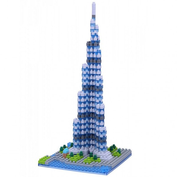 Burj Khalifa (Nanoblock NBH-122)