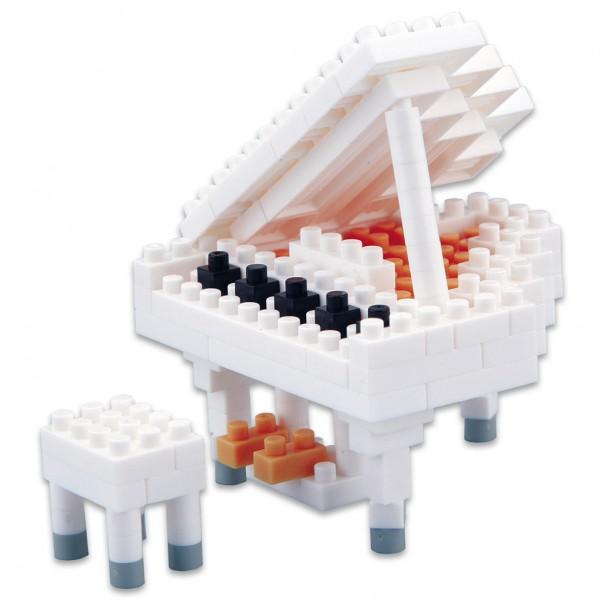 Grand Piano weiss (Nanoblock NBC-053)