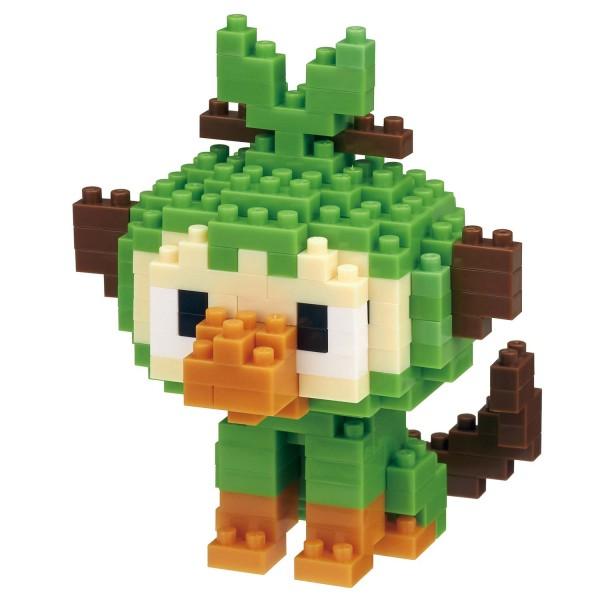 Pokémon Grookey / Ouistempo / Chimpep (Nanoblock NBPM-059)