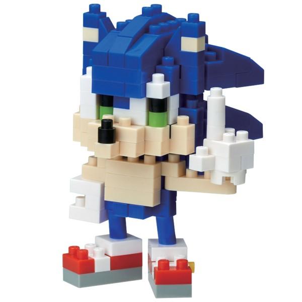 Sonic the Hedgehog - Sonic (Nanoblock NBCC-081)