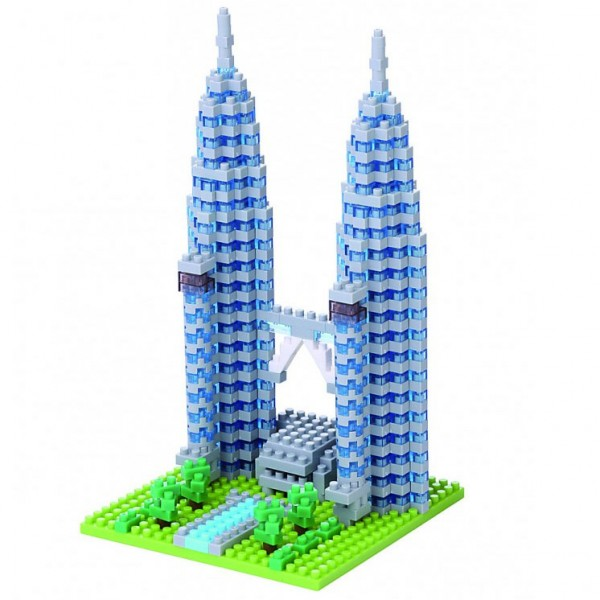 Petronas Twin Tower (Nanoblock NBH-110)