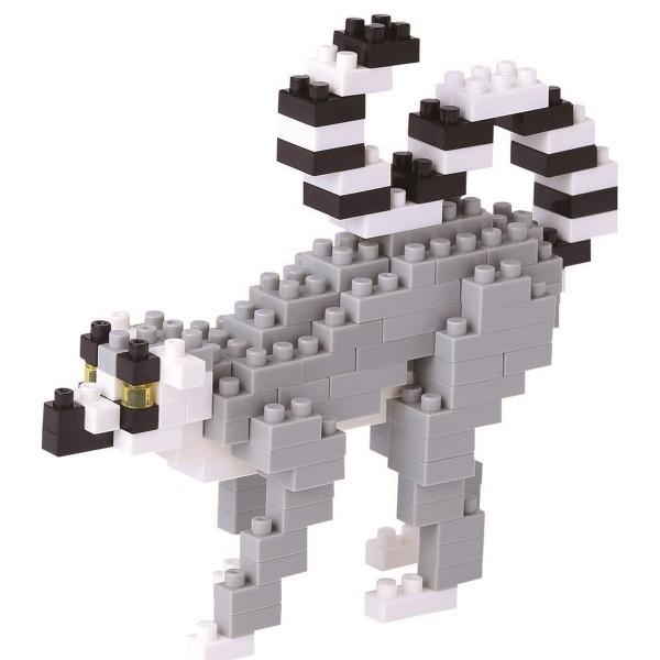 Ring-Tailed Lemur (Nanoblock NBC-166)