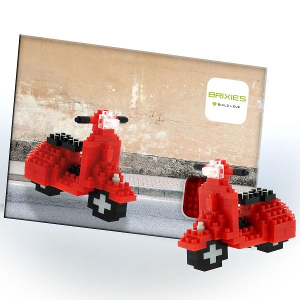 Postkarte Motorroller (220.055)