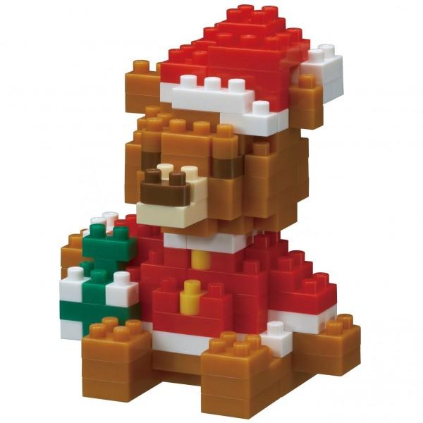 Christmas Bear (Nanoblock NBC-201)