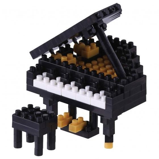 Grand Piano schwarz (Nanoblock NBC-146)