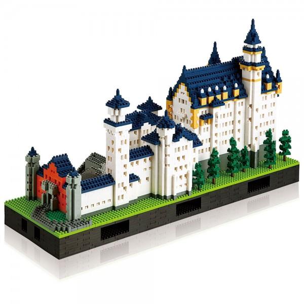 Schloss Neuschwanstein Deluxe Edition (Nanoblock NB-009)