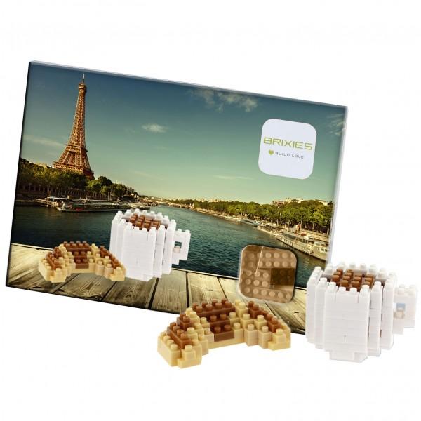 Postkarte Croissants & Kaffee (220.064)