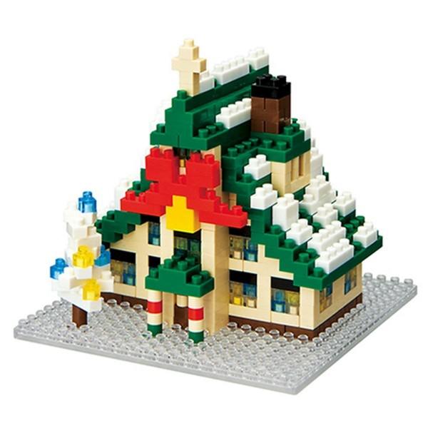 Weihnachtshaus (Nanoblock NBH-025)