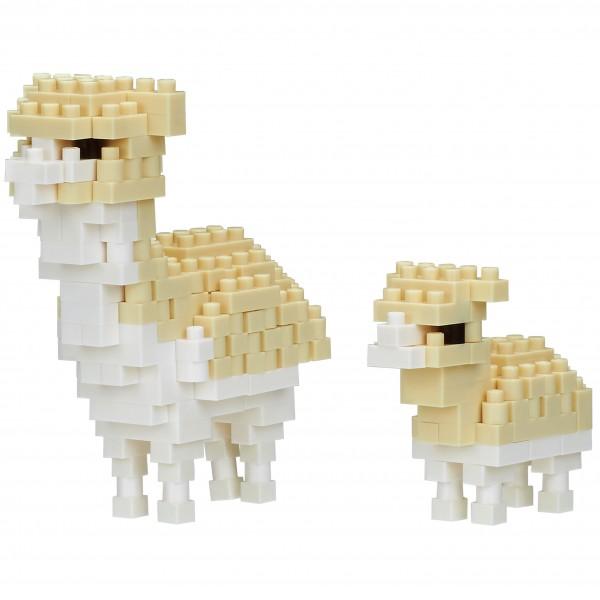 Alpaca and Baby (Nanoblock NBC-300)