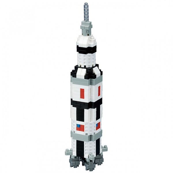 Saturn V Rocket (Nanoblock NBH-130)