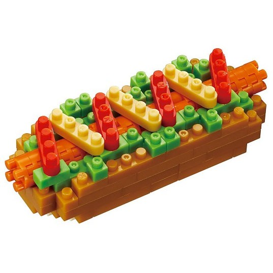 Hotdog (Nanoblock NBC-218)