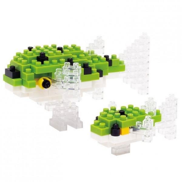 Grüner Kugelfisch (Nanoblock NBC-085)
