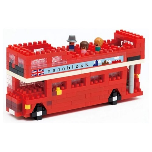 London Tour Bus (Nanoblock NBH-080)