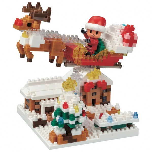 Christmas Night (Nanoblock NBH-191)