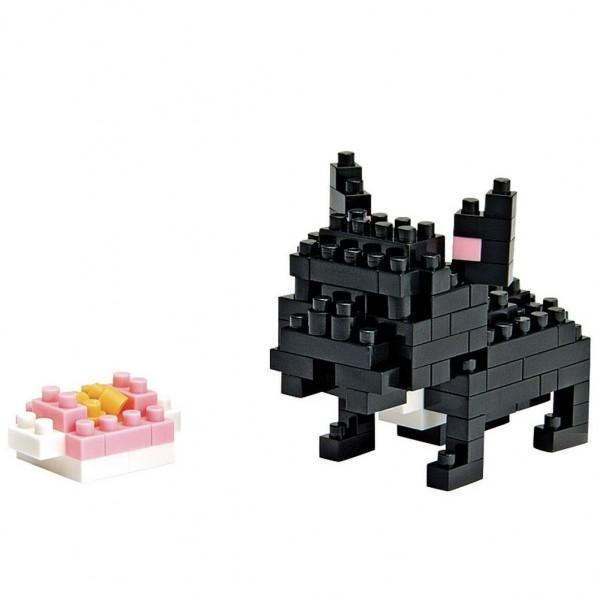 French Bulldog schwarz (Nanoblock NBC-015)