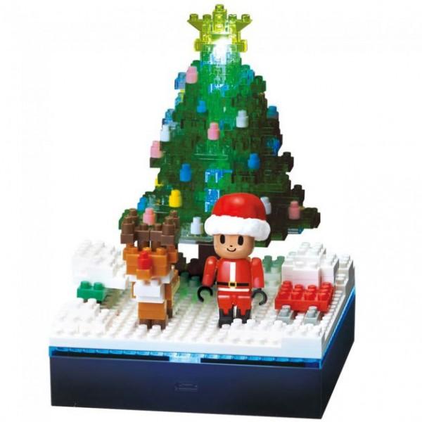 Weihnachtsbaum mit Beleuchtung (Nanoblock NBH-168)