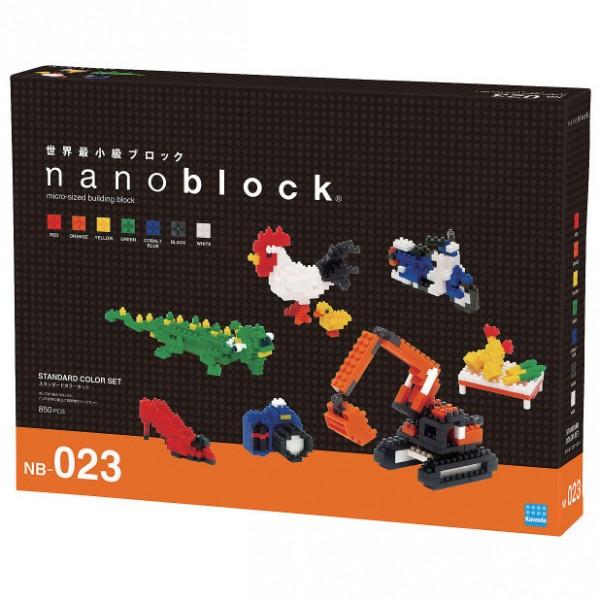 Standard Color Set 2 (Nanoblock NB-023)
