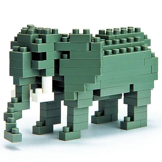 Afrikanischer Elefant (Nanoblock NBC-035)