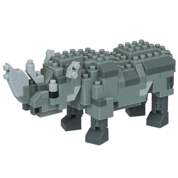 Rhinoceros (Nashorn) (Nanoblock NBC-308)