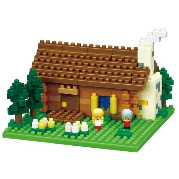 Swiss Log Cabin (Nanoblock NBH-151)