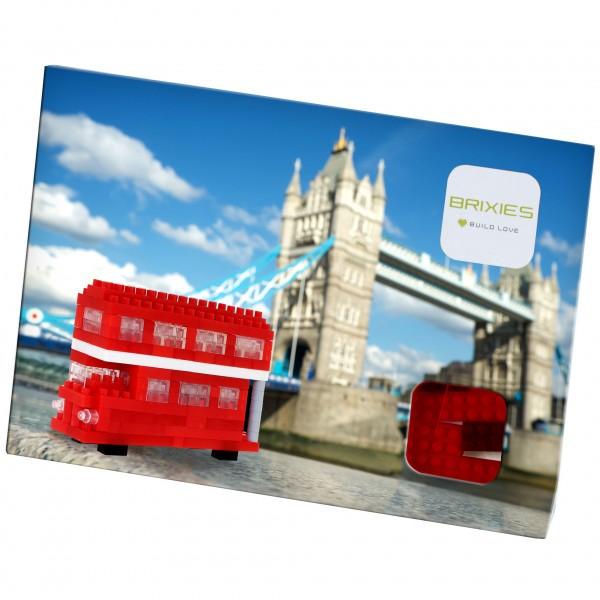 Postkarte Roter Doppeldeckerbus (220.035)