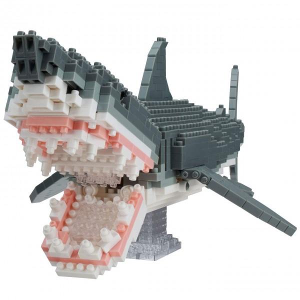 Great White Shark Deluxe Edition (Nanoblock NBM-027)