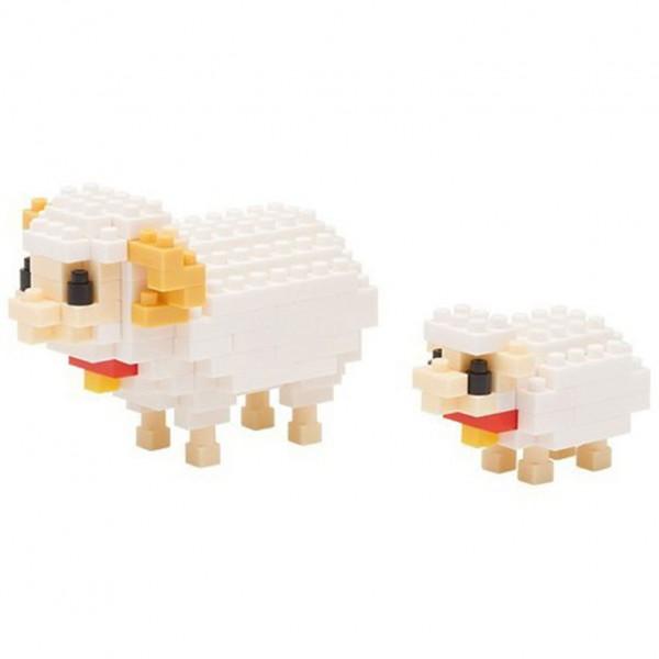Mother Sheep & Baby (Nanoblock NBC-128)