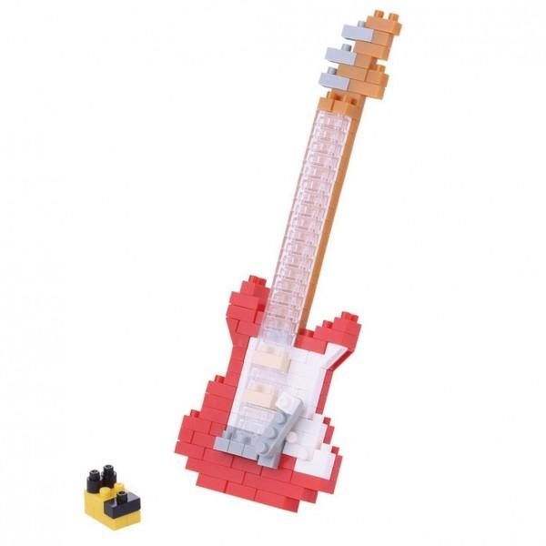 E-Gitarre rot (Nanoblock NBC-171)