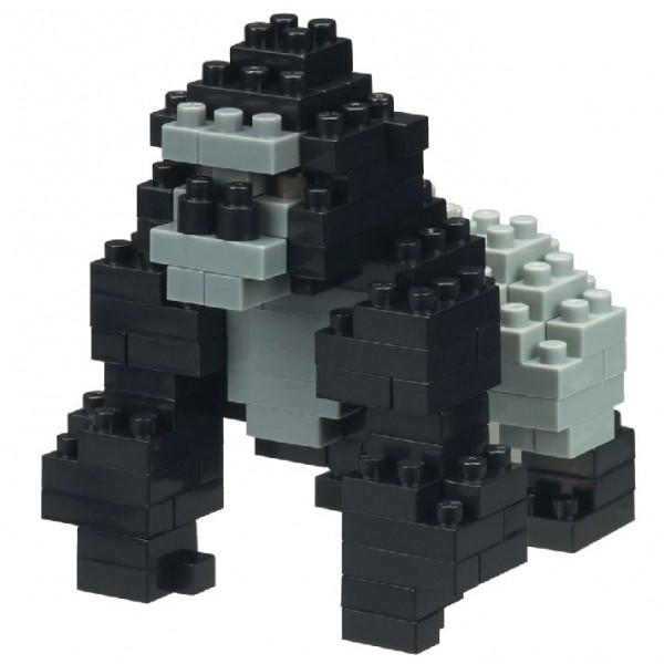 Gorilla (Nanoblock NBC-227)