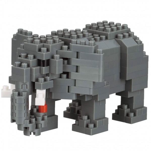 Afrikanischer Elefant 2 (Nanoblock NBC-295)