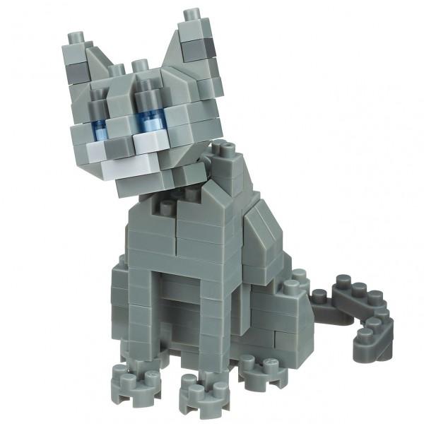 Russian Blue Cat (Nanoblock NBC-266)